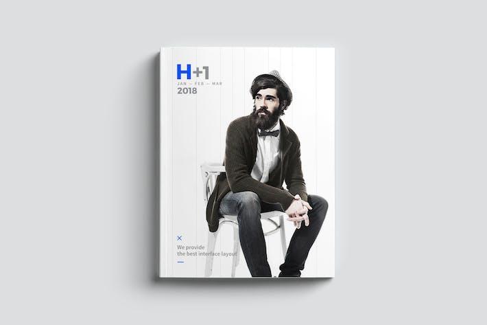 Thumbnail for H+1 Magazine Tempalte