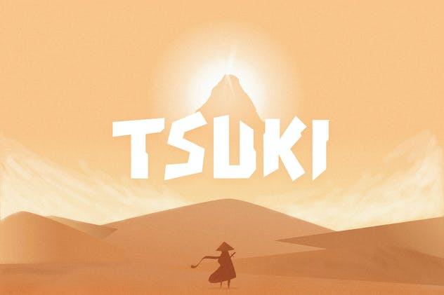 Tsuki Typeface - product preview 8