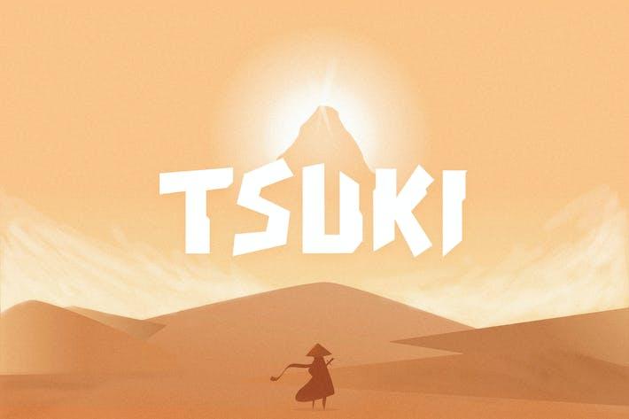 Thumbnail for Tipo de letra Tsuki
