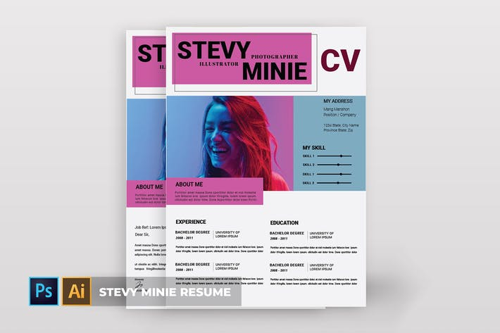 Cover Image For Stevy Minie | CV & Resume