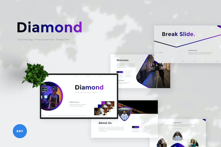 Thumbnail for Technology Keynote Template