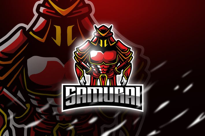 Thumbnail for Samurai - Mascot & Esport Logo