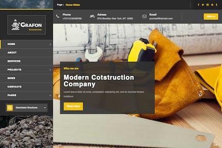 Grafon - Construction / Renovate Wordpress Theme