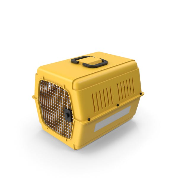 Pet Carrier Yellow
