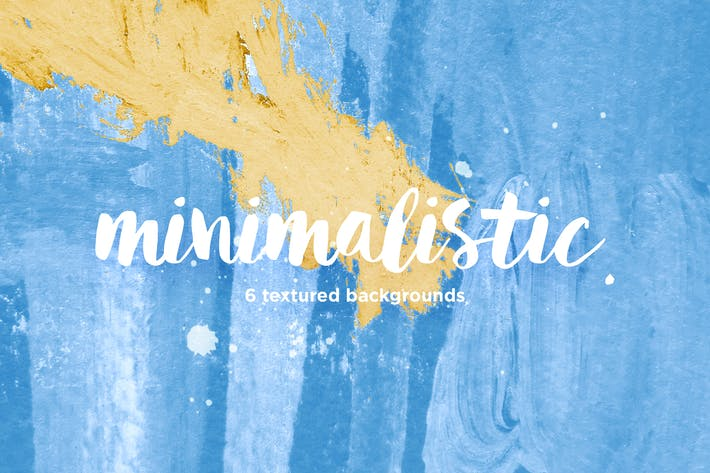 Thumbnail for Minimalistic. 6 Textured Backgrounds