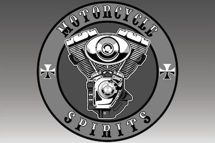 Motorrad-Motor - Vektor Illustration