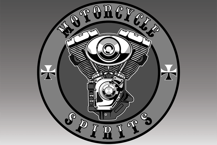 Thumbnail for Motorcyle Engine - Vector Illustration