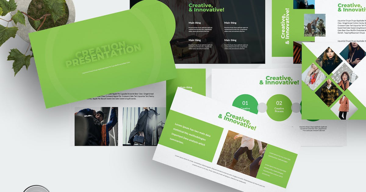 Creation - Powerpoint Template by aqrstudio