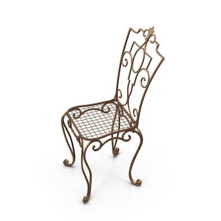 Stuhl aus Gusseisen