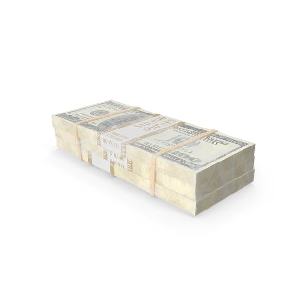 Завернутый стек денег