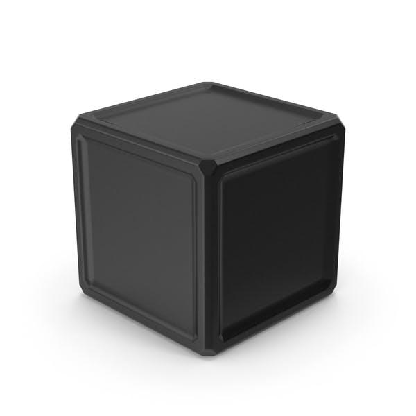 Куб черный