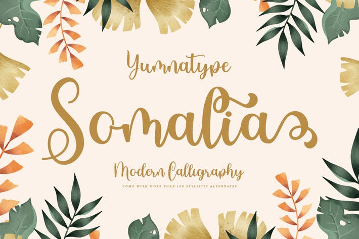 Thumbnail for Somalia - Modern Calligraphy