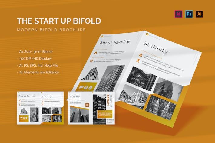 Start Up Agency - Bifold Brochure