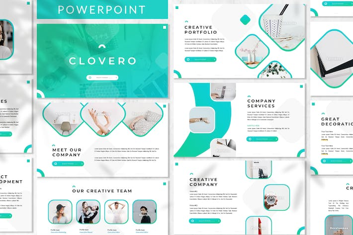 Thumbnail for Clovero - Business Powerpoint Template