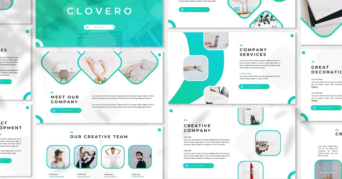 Download Clovero - Business Powerpoint Template by 83des