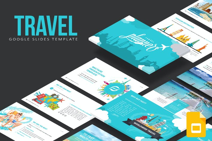 Thumbnail for Travel Google Slides Template
