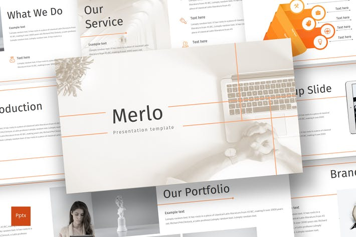 Thumbnail for Merlo - Powerpoint Template
