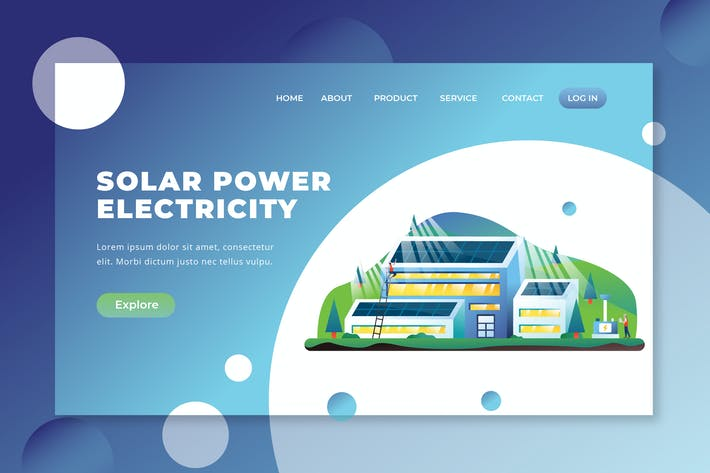 Thumbnail for Solar Power Electricity - PSD and AI Landing Page