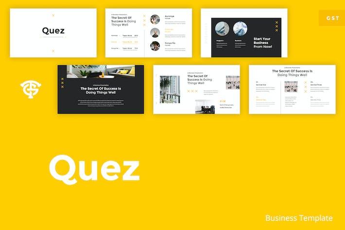 Thumbnail for Quez Business - Google Slides