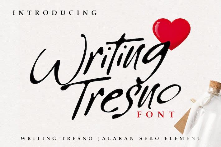 Thumbnail for Writing Tresno