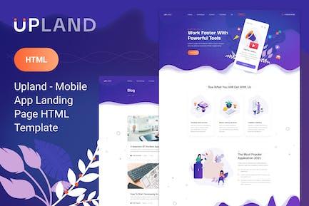 Upland - HTML-Vorlage mobile App