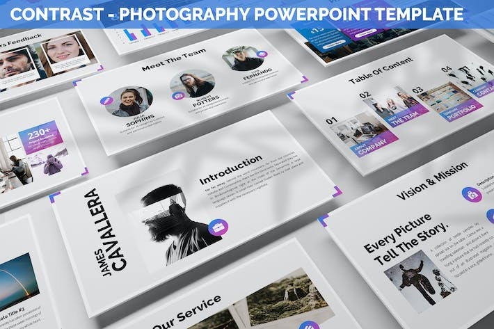 Thumbnail for Contrast - Photography Powerpoint Template