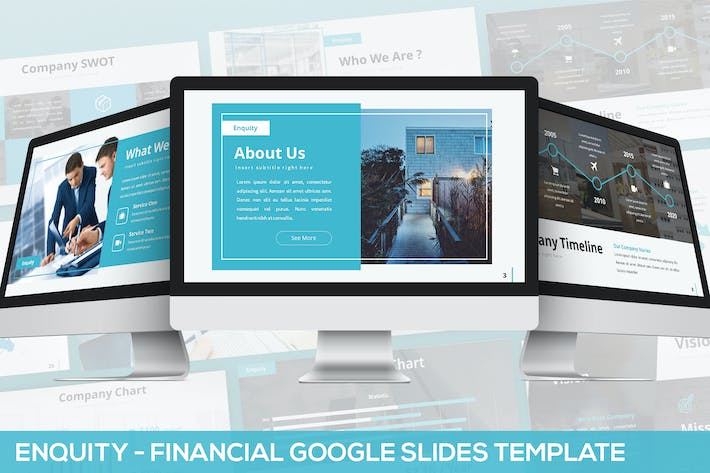 Thumbnail for Enquity - Financial Google Slides Template