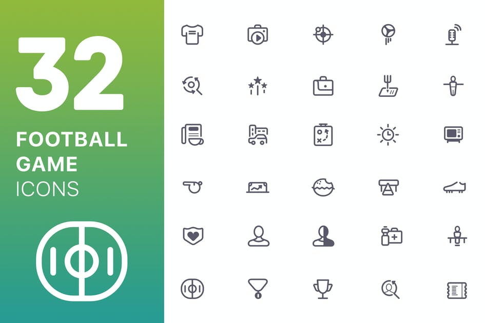 Download Football/Game Icons by spovv