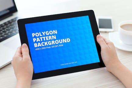Arrière-plan de répétition de polygone