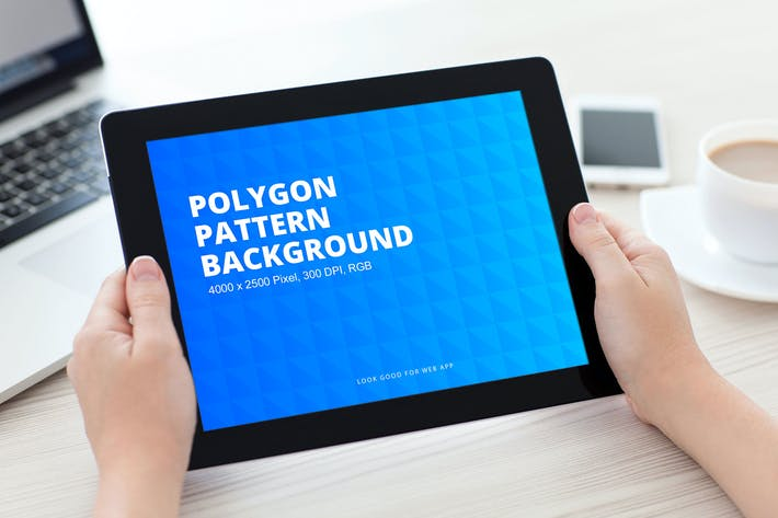 Thumbnail for Polygon Pattern Background