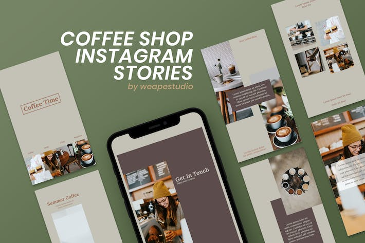 Thumbnail for Coffee Shop Instagram Stories