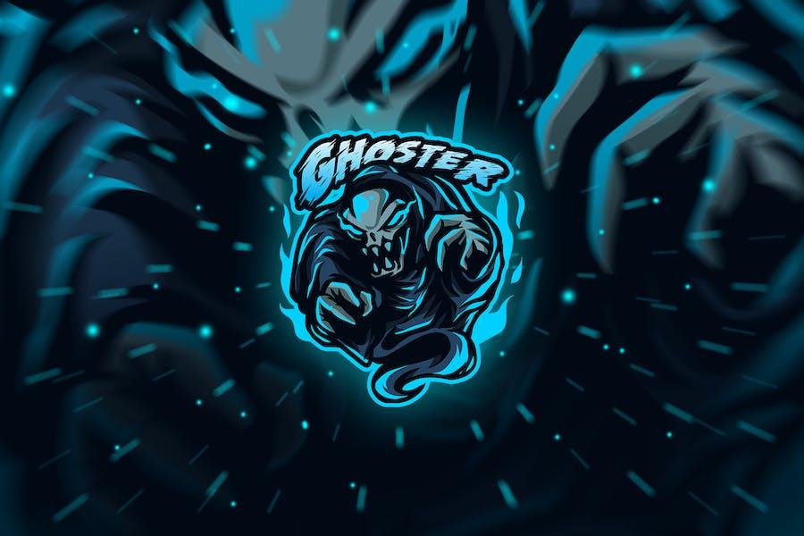 ghoster - Mascot & Esport Logo
