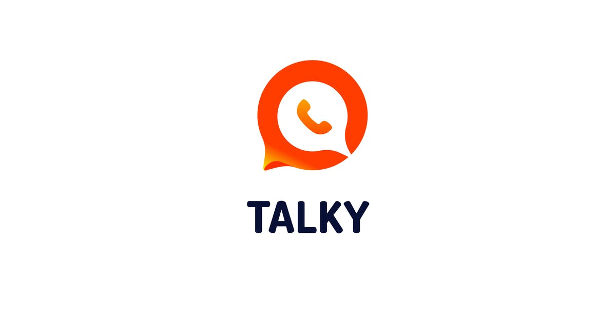 Download Talky - Logo Template by Zomorsky