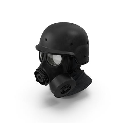 Máscara de gas del Ejército S10