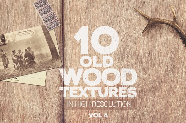 Thumbnail for Old Wood Textures x10 Vol.4