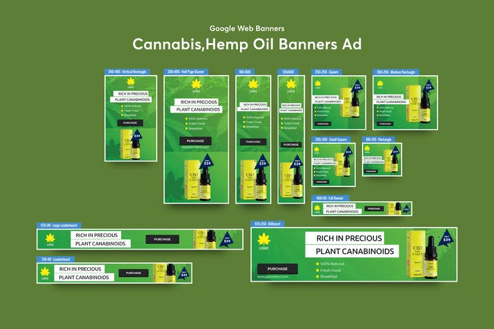 Thumbnail for Cannabis Products Banner Ad