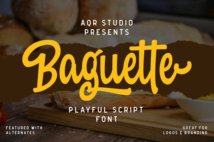 Thumbnail for Baguette Bold Fonts