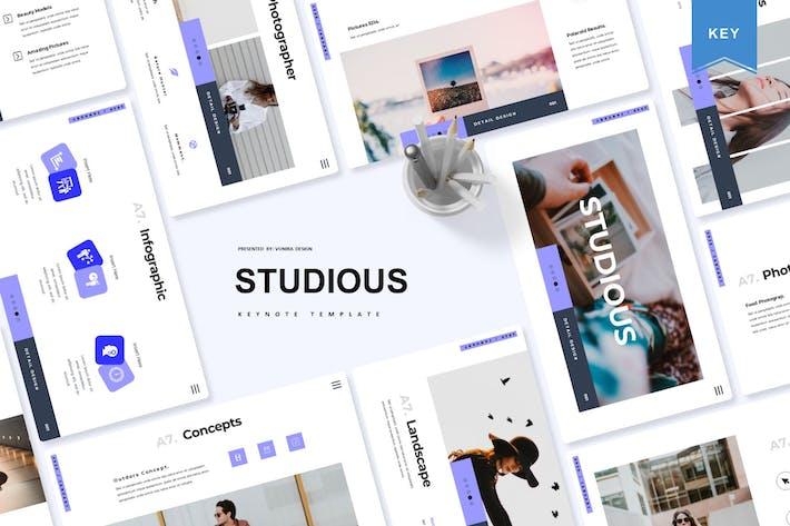 Thumbnail for Studious | Keynote Template