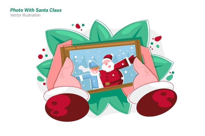 Thumbnail for Photo Santa Claus - Vector Illustration