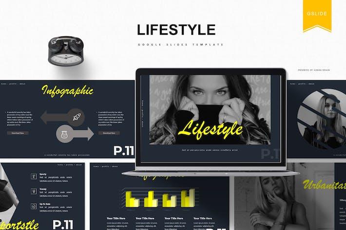 Thumbnail for Lifestyle | Google Slides Template