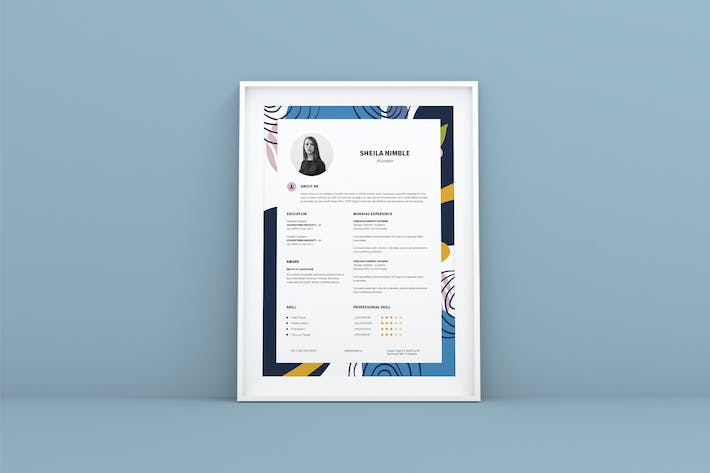 Creative Resume CV Design Template