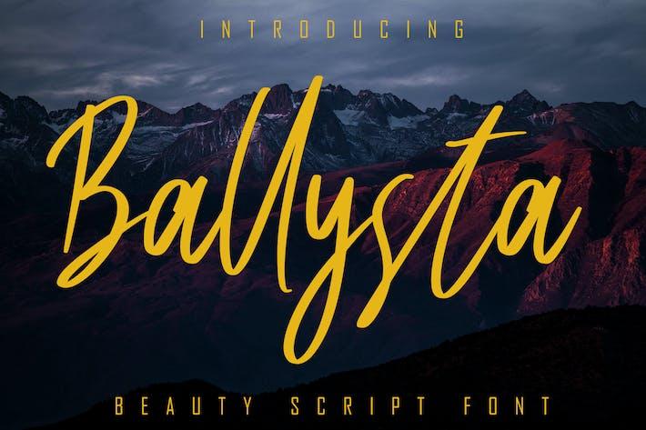 Thumbnail for Ballysta Beauty Script Font