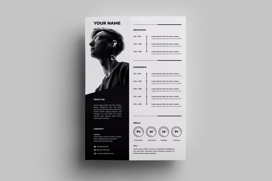 Resume Design Templates.04 - product preview 0
