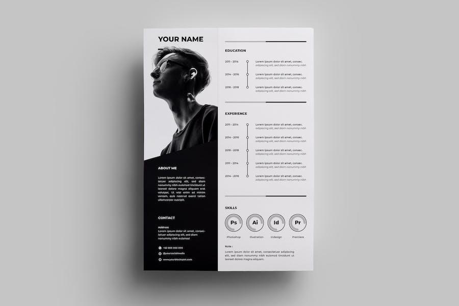 Resume Design Templates.04