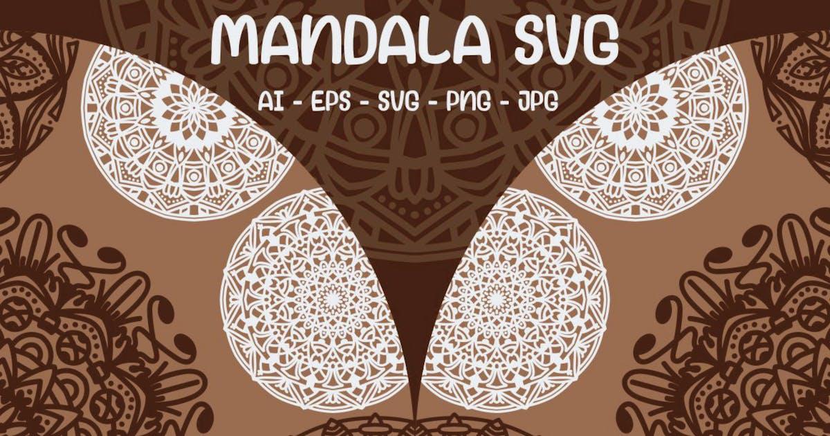Download 5 Circle Mandala SVG by garisman