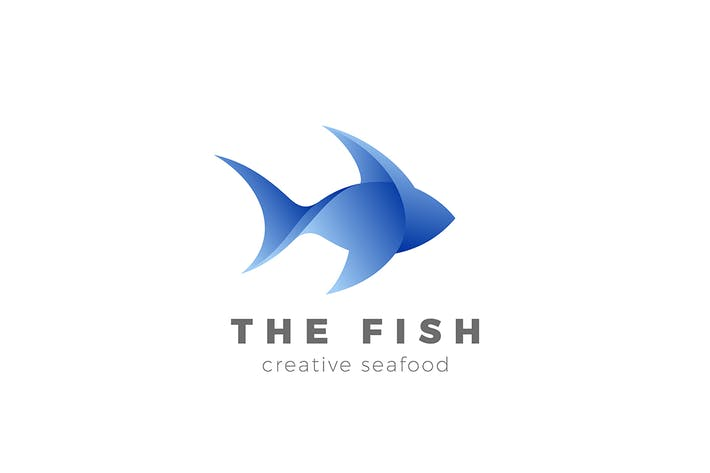 Thumbnail for Logo Fish abstract Seafood Restaurant Store