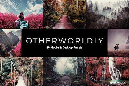 20 Otherworldly Lightroom Presets & LUTs