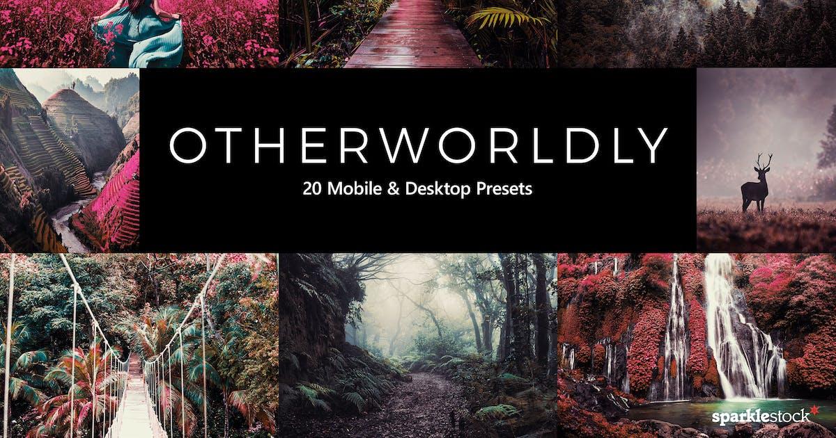 Download 20 Otherworldly Lightroom Presets & LUTs by sparklestock