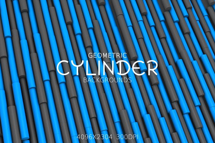 Thumbnail for Geometric Cylinder Backgrounds