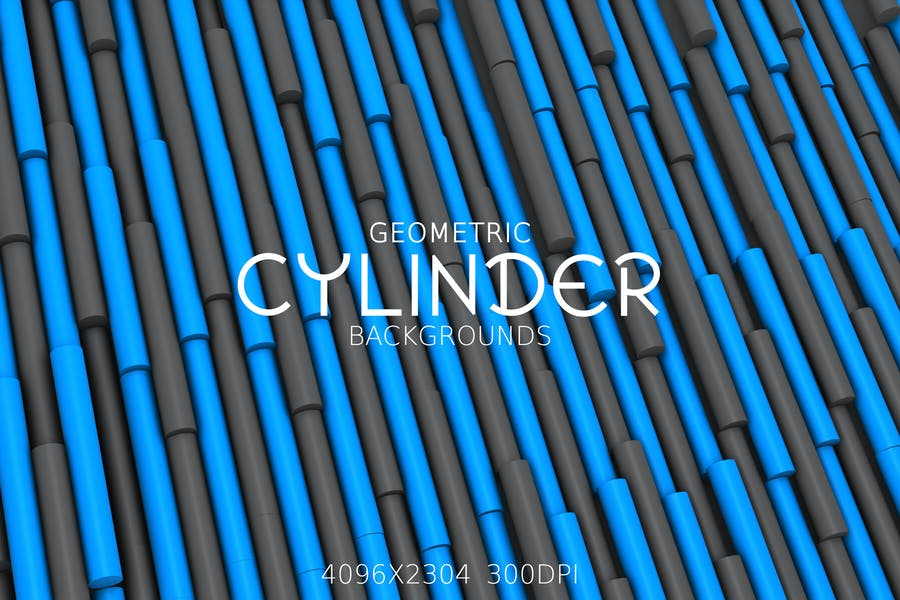 Geometric Cylinder Backgrounds